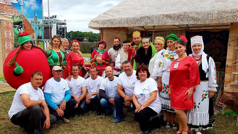 Делегация Столинского района приняла участие в республиканском празднике «Купалье» в Александрии