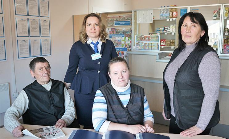 Отделение связи Ольшаны-1 Столинского участка почтовой связи признано лучшим в районе по итогам прошлого года