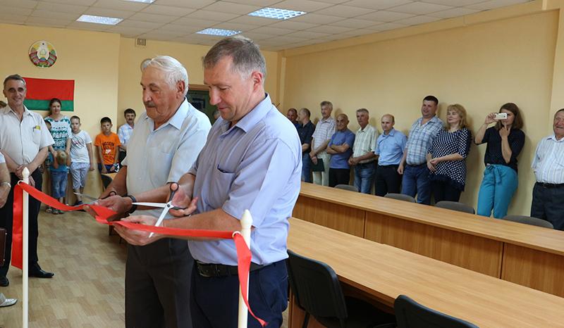 На Давид-Городокском электро-механическом заводе открыли музей