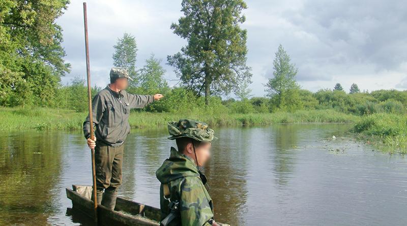 На территории Ольманских болот задержаны украинские сборщики ягод