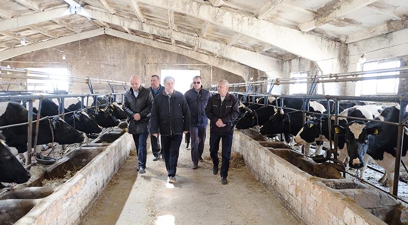 Губернатор Брестской области Анатолий Лис посетил Столинщину с рабочим визитом.