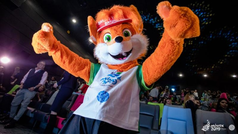 Информация для зрителей церемоний  открытия и закрытия II Европейских игр