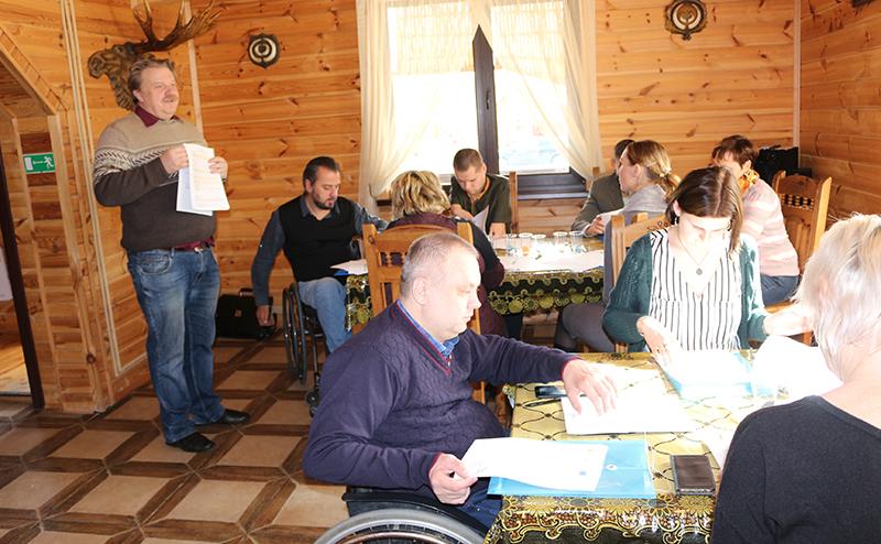 На Столинщине прошёл слёт молодых инвалидов и представителей соответствующих организаций