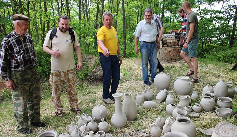 С 5 по 7 июня в д. Городная проходит областной семинар-практикум по современным технологиям изготовления керамики