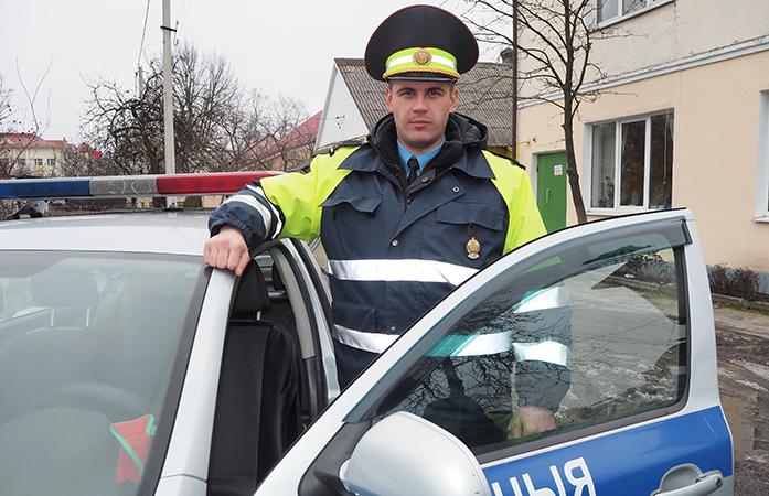 Игорь КУЗЕМКО –  лучший сотрудник ОГАИ Столинского РОВД по итогам  2018 года