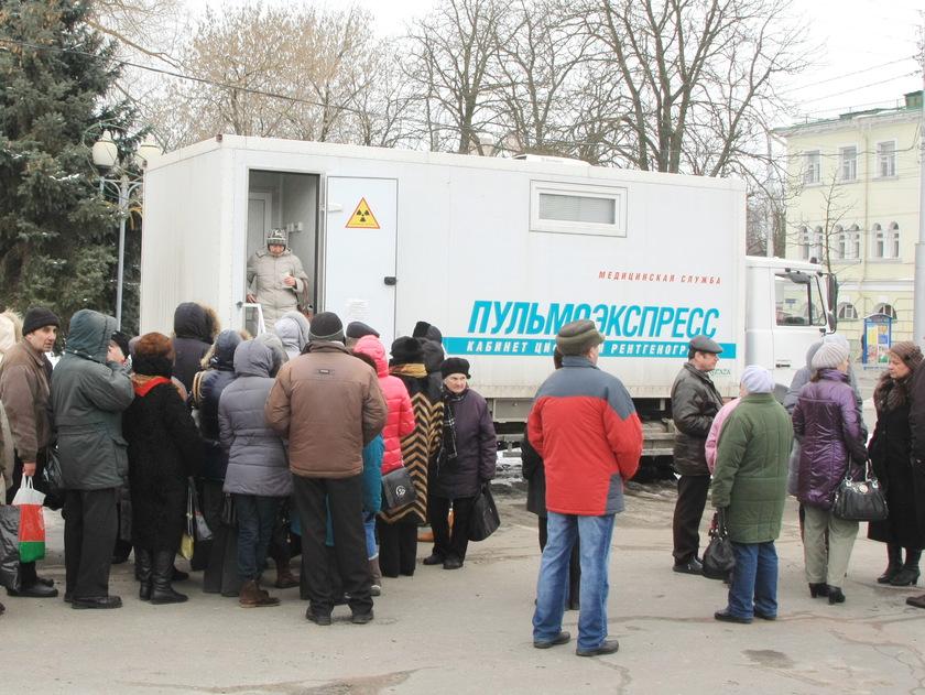 24 марта в Столине будет работать передвижной флюорографический аппарат