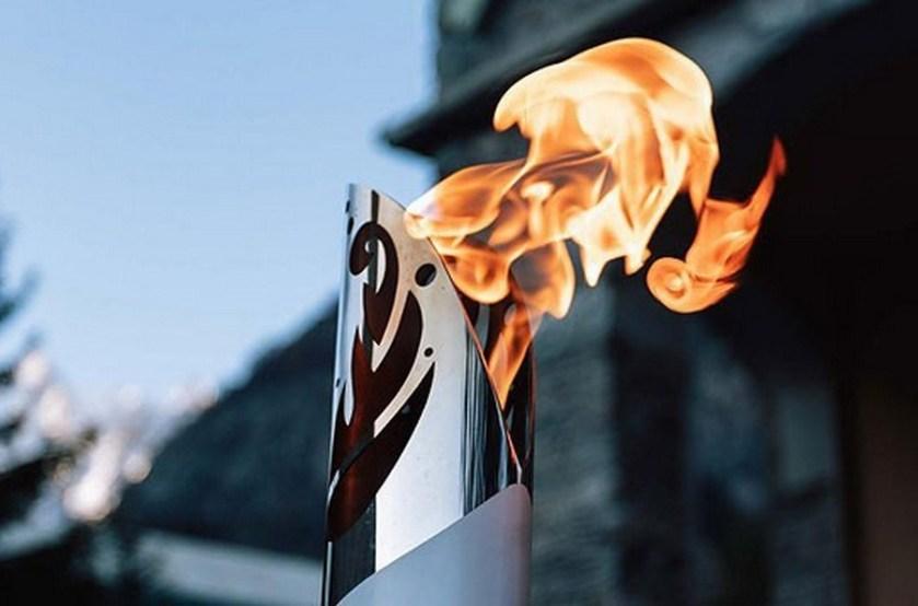 18 мая эстафета огня «Пламя мира» прибыла в Гродненскую область