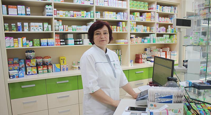 Новая аптека открылась в магазине «Родны кут» по улице Ульянова в Столине