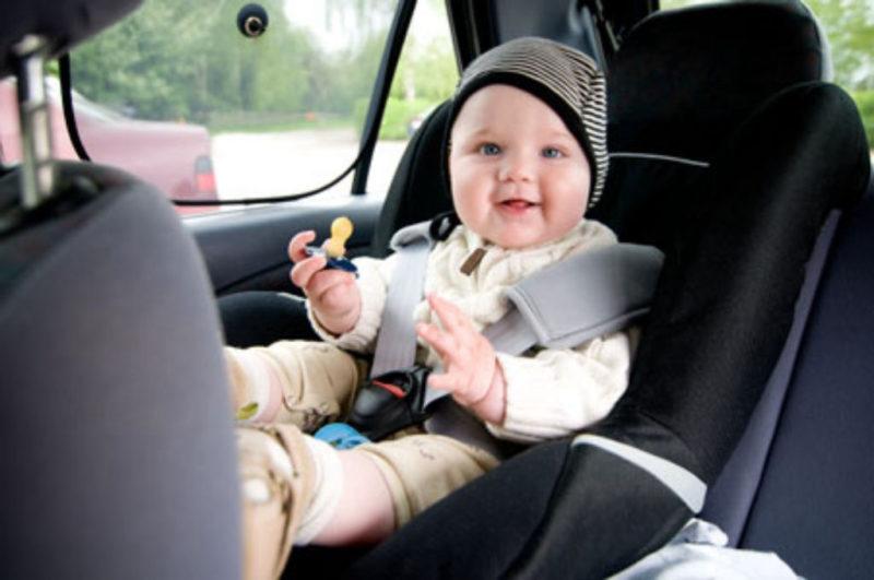 С 18 августа ГАИ уделит повышенное внимание безопасной перевозке детей