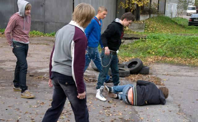 Не менее 12 ударов руками и ногами нанесли жителю Столинщины  4 жителей Пинского района