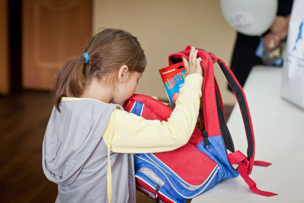 Поможем собрать детей в школу!